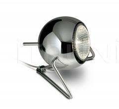 Настольный светильник D57 Beluga Steel фабрика Fabbian