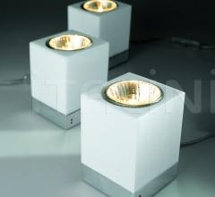 Настольный светильник D28 Cubetto фабрика Fabbian