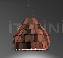 Подвесной светильник F12 Roofer A01/A013 фабрика Fabbian