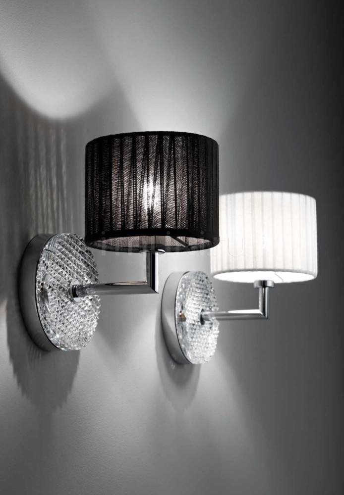Настенный светильник D82 Diamond & Swirl D01 Fabbian