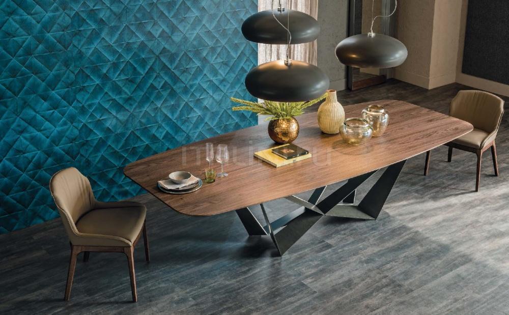 Стол обеденный Skorpio Wood Cattelan Italia