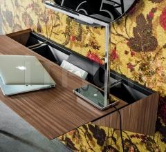 Итальянские компьютерные столы - Компьютерный стол Pendola Open фабрика Cattelan Italia