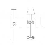 Настольный светильник ART. 761 Patrizia Garganti (Baga)