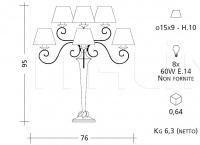 Настольный светильник ART. 786 Patrizia Garganti (Baga)