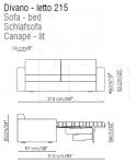 Диван-кровать Virginia Bonaldo