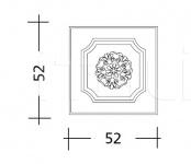 Декоративная панель ART. ST.76/77/78/79 Patrizia Garganti (Baga)