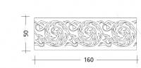 Декоративная панель ART. ST.59 Patrizia Garganti (Baga)