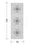 Декоративная панель ART. ST.68 Patrizia Garganti (Baga)