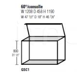 Консоль 60°/consolle Molteni & C