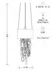 Подвесной светильник CR50 Patrizia Garganti (Baga)