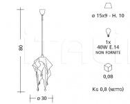 Подвесной светильник 2145/V Patrizia Garganti (Baga)