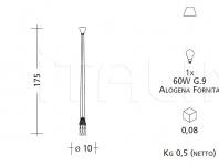 Подвесной светильник CR4 Patrizia Garganti (Baga)