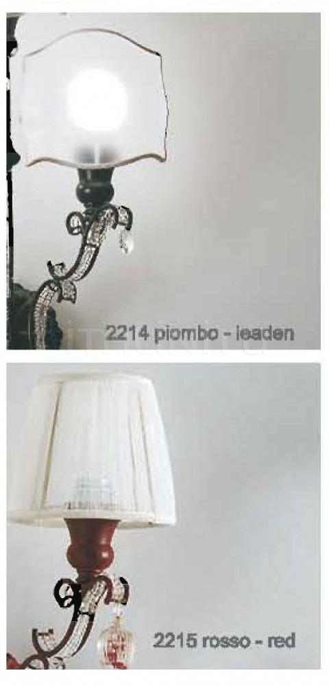 Настенный светильник 2210/2211/2212/2213/2214/2215 Patrizia Garganti (Baga)