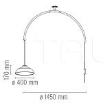 Подвесной светильник Mod. 2129 Flos