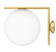 Итальянские настенные светильники - Настенный светильник IC C/W 2 фабрика Flos