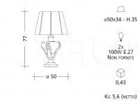Настольный светильник CM510 Patrizia Garganti (Baga)