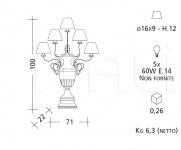 Настольный светильник CM500 Patrizia Garganti (Baga)