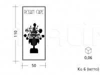 Декоративная панель ST81/82 Patrizia Garganti (Baga)