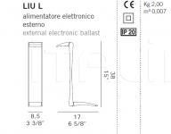 Настольный светильник LIU L De Majo Illuminazione