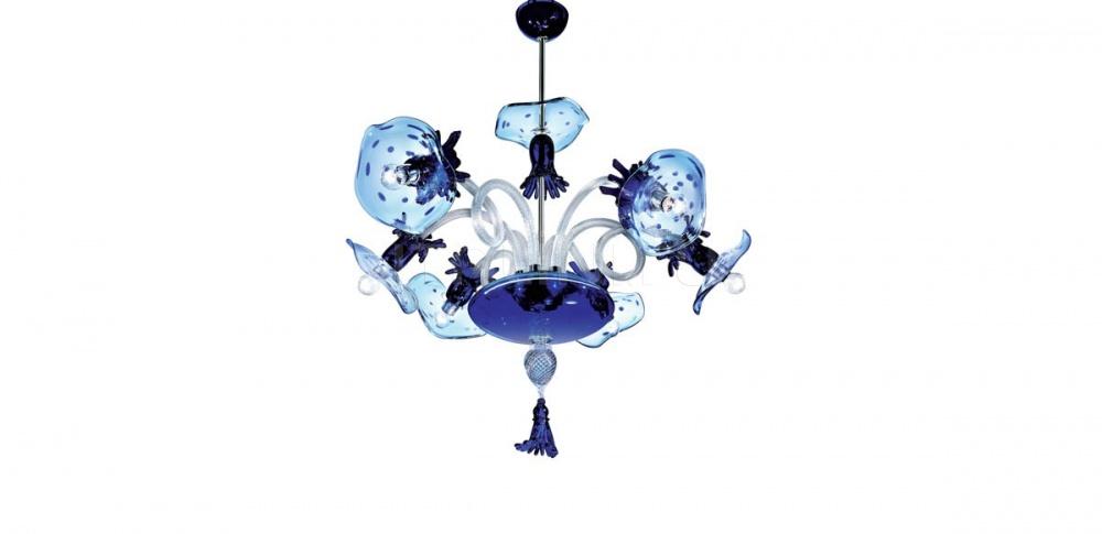 Подвесной светильник VENEDIG POM PON K6 De Majo Illuminazione