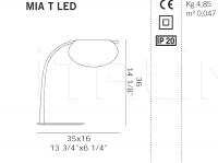 Настольный светильник MIA T De Majo Illuminazione