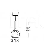 Подвесной светильник Glo 0811 Penta
