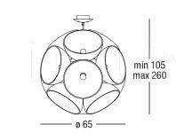 Подвесной светильник Cryon 1012 Penta