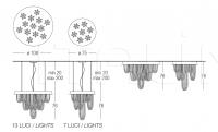 Подвесной светильник Kaskade 1105 Penta