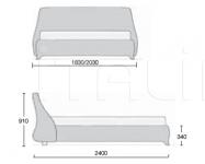 Кровать Sumo MisuraEmme