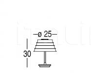 Настольный светильник Chi 9907 Penta