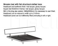 Кровать Slim MisuraEmme