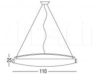 Подвесной светильник Panona 9524 Penta