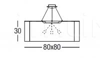 Подвесной светильник Fabric Pendants Quadrata 1005 Penta