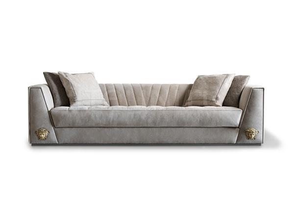 Трехместный диван VIA GESU' Versace Home