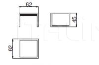 Столик VIA GESU'- LOW-HIGH Versace Home