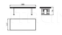 Стол обеденный VIA GESU' Versace Home