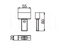 Настольная лампа METRO Versace Home