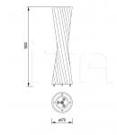 Напольный светильник Valzer Pallucco