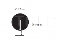 Настольный светильник Luna LED Catellani & Smith