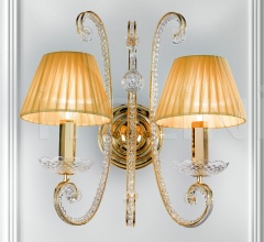 Настенный светильник ILCRISTALLO A2 фабрика Masiero