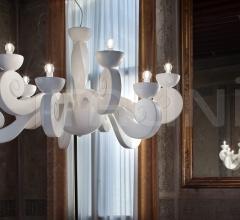 Подвесной светильник BOTERO S5+5 фабрика Masiero