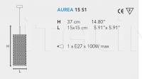 Подвесной светильник AUREA 15 S1 Masiero