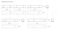 Модульный диван Bristol Poliform