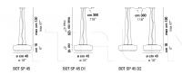 Подвесной светильник BOT SP 45 Vistosi