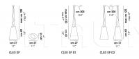 Подвесной светильник CLEO SP Vistosi