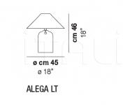 Настольный светильник ALEGA Vistosi