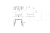 Кресло Costance IPE Cavalli (Visionnaire)