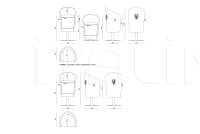 Барный стул Gaspard IPE Cavalli (Visionnaire)