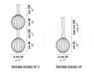 Подвесной светильник TAHOMA ROUND Vistosi