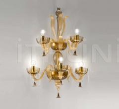 Настенный светильник Soffio 1524/A3+2 D FU.ORO фабрика Sylcom